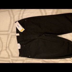 H&M high waisted black jeans size 33